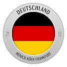 germany sticker by mostly10