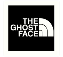 The Ghost Face Art Print