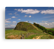 The Path to Back Tor Canvas Print
