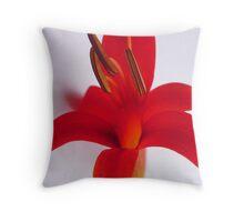 flower of fire Throw Pillow
