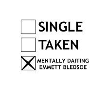 Mentally daiting Emmett Bledsoe by sandraklasson