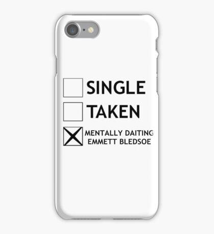 Mentally daiting Emmett Bledsoe iPhone Case/Skin