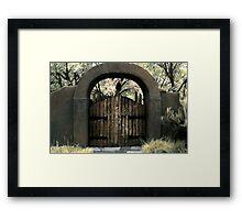 Vista Clara Framed Print