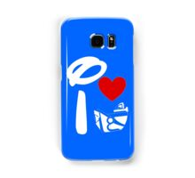 I Heart Astro Blasters (Inverted) Samsung Galaxy Case/Skin