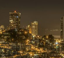 San Francisco Skyline by AstroGuy