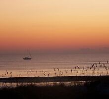 Sail at Sunrise by omhubbard