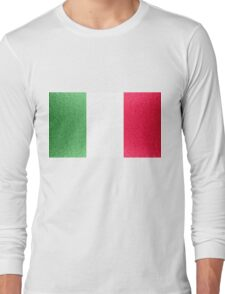 Italy Flag Long Sleeve T-Shirt