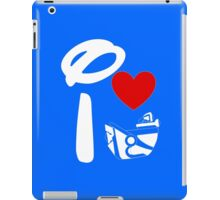 I Heart Astro Blasters (Inverted) iPad Case/Skin