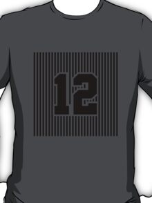 12th Man Simplistic T-Shirt