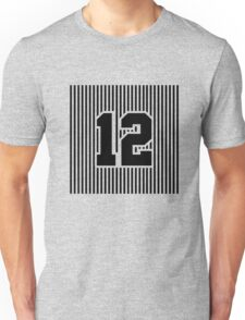 12th Man Simplistic Unisex T-Shirt
