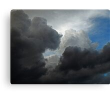 August Clouds Canvas Print