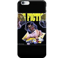 pug fiction iPhone Case/Skin