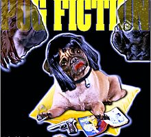 pug fiction by darklordpug