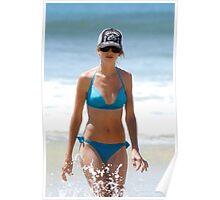 Beach Beauty Poster