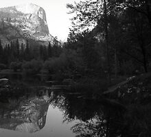 Mount Watkins, Mirror Lake, Yosemite National Park, CA 2007 by J.D. Grubb
