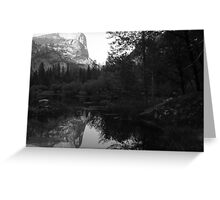 Mount Watkins, Mirror Lake, Yosemite National Park, CA 2007 Greeting Card
