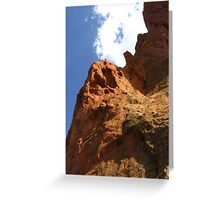 Tower of Babel, Garden of the Gods, Colorado Springs, CO 2007 Greeting Card