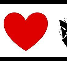 I Heart Astro Blasters (Classic Logo) by ShopGirl91706