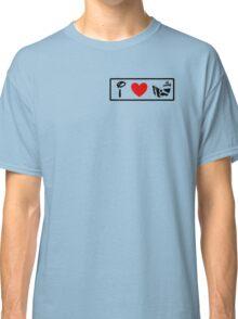 I Heart Astro Blasters (Classic Logo) Classic T-Shirt