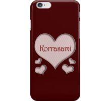 Korrasami Happy Valentines Day iPhone Case/Skin