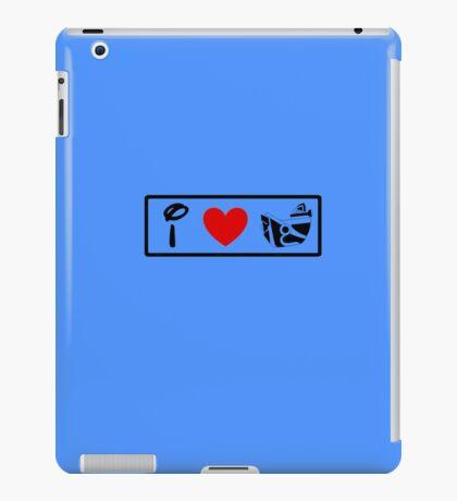I Heart Astro Blasters (Classic Logo) iPad Case/Skin