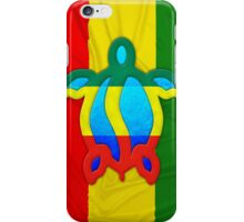 Rasta Honu iPhone Case/Skin