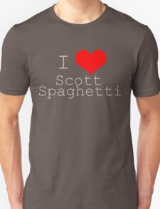 I {Heart} Scott Spaghetti T-Shirt