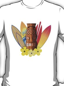 Surfboards And Tikis T-Shirt