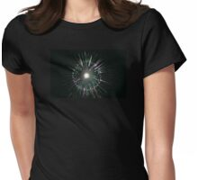 Abstract Womens Fitted T-Shirt