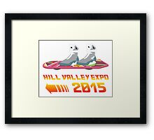 Hill Valley Expo Framed Print