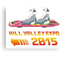 Hill Valley Expo Canvas Print