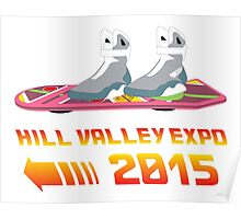 Hill Valley Expo Poster