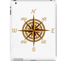 Vintage Compass Rose iPad Case/Skin