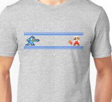 MEGAMAN VS MARIO Unisex T-Shirt