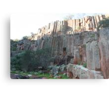 The Organ pipes, Gawler Ranges National Park.,South Australia. Metal Print