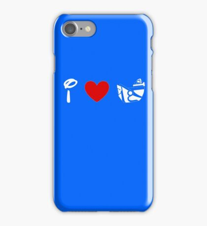 I Heart Astro Blasters (Classic Logo) (Inverted) iPhone Case/Skin