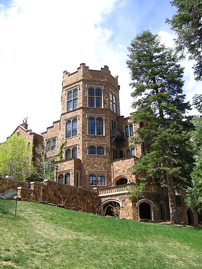 Glen Eyrie Castle Colorado Springs Co 2008 By J D