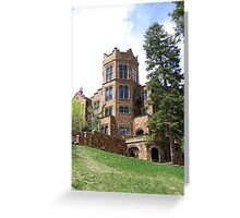 Glen Eyrie Castle, Colorado Springs, CO 2008 Greeting Card