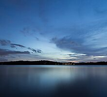 A cold night on Lake Lanier (II) by Bernd F. Laeschke