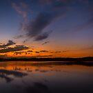 A cold night on Lake Lanier (III) by Bernd F. Laeschke