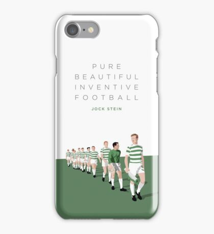 Pure Beautiful Inventive Football - Lisbon Lions iPhone Case/Skin