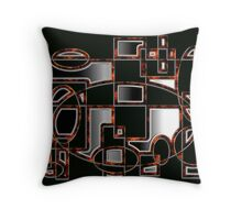 Windows and Doors Throw Pillow