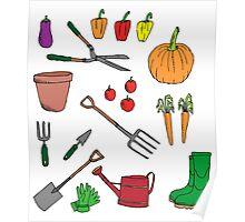 Gardening Poster