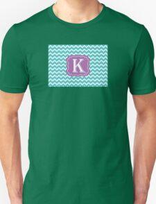 Chevron K Unisex T-Shirt