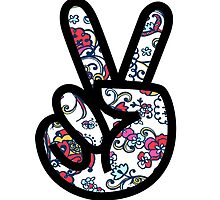 Lilly Peace sign Fingers by MarcoD
