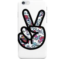 Lilly Peace sign Fingers iPhone Case/Skin