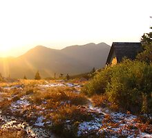 Sunrise, Timberline Lodge, Pike's Peak, CO 2008 by J.D. Grubb