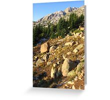 Timberline, Dawn, Pike's Peak, CO 2008 Greeting Card