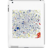 London Piet Mondrian Style City Street Map Art iPad Case/Skin