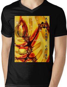 As Tears Go By Mens V-Neck T-Shirt